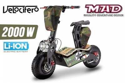 Velocifero MAD 2000W E-Scooter
